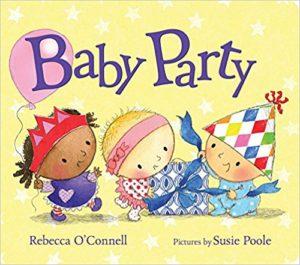 """【画像】英語の絵本読み聞かせ21日間連続チャレンジの3日目(3/21):""""Baby Party"""""""