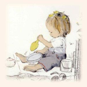 """【画像】英語の絵本読み聞かせ21日間連続チャレンジの17・18日目(17, 18/21):""""Emily's Balloon"""""""