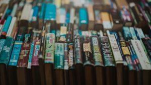 英語の絵本たちの「集合写真」:21日間英語絵本読み聞かせプロジェクトで使った絵本を並べてみました