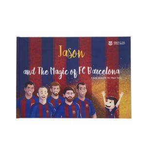 【クーポンコード付き】魔法の世界だ!メッシと一緒にプレー!?FCバルセロナ公式の英語の絵本!!